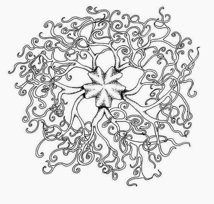 download animal snake mandala coloring pages special for you - Animal Mandala Coloring Pages Easy