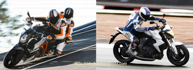 Honda CB1000R Vs KTM Super Duke 990 R