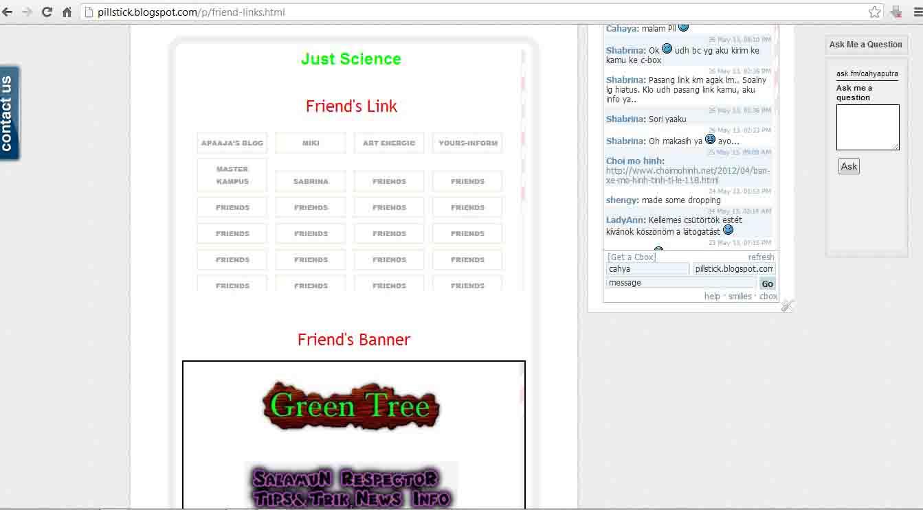 See this at http://pillstick.blogspot.com/p/friend-links.html