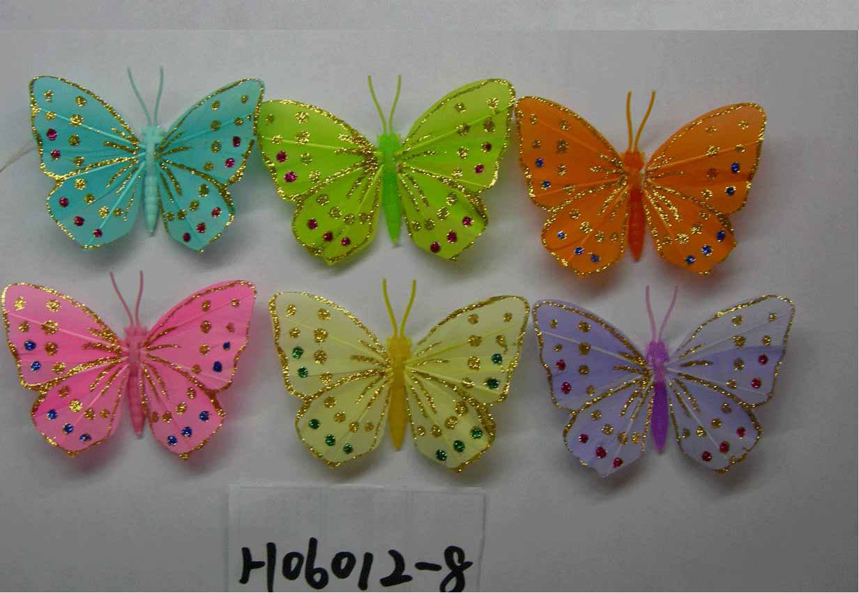 10 cute crafts ideas just for fun for Butterfly art and craft