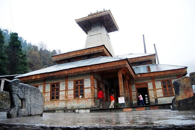 Temple of Manu at Manali