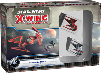 Miniature board game news X-wing Imperial Aces