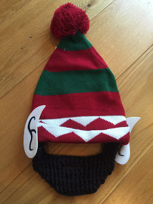 An ELF beard hat
