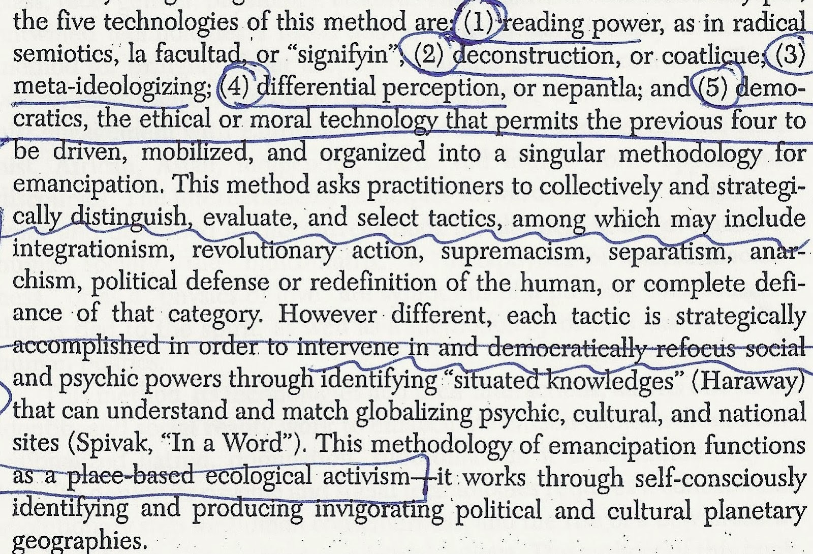 """feminism according to sandoval This paper aims at showing how, through several feminist identity politics  is  determined by male-‐subjects """"according to the standard of their work and their   both for haraway (1991) and for sandoval (2000) the notion of oppositional."""