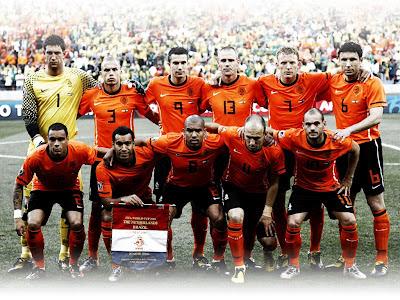 Wallpaper Skuad Tim Belanda di Euro 2012