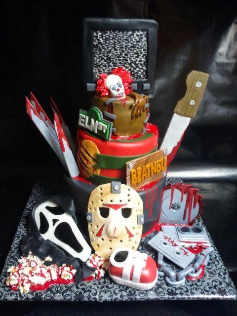 Freddy Krueger Wedding Cake