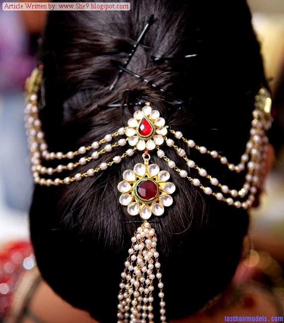 Hairstyles 2014-2015 for Walima Party and Receptions