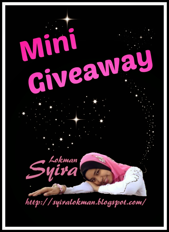 http://syiralokman.blogspot.com/2014/10/mini-giveaway-by-syira-lokman.html