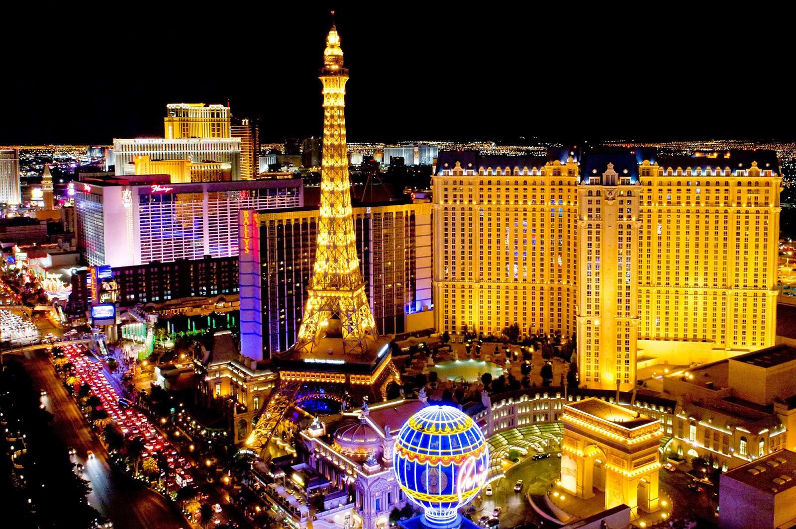Las vages casino map 8