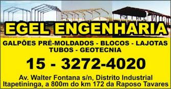 EGEL ENGENHARIA FABRICAÇÃO E VENDA DE ARTEFATOS DE CIMENTO..