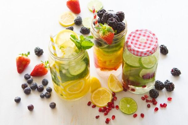 3 Delicious Cleanse & Detox Waters