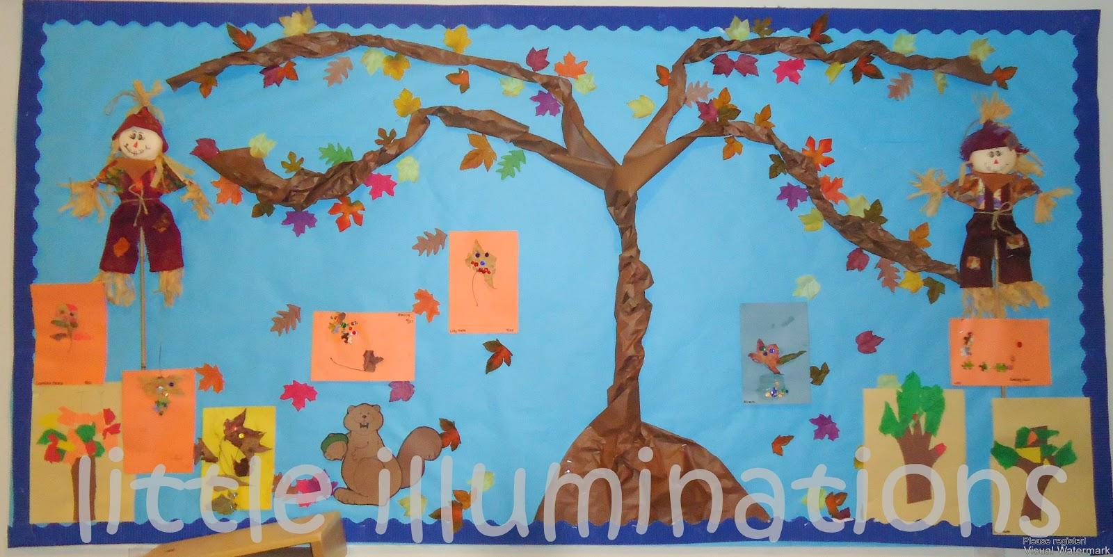 little illuminations: Fabulous Fall Bulletin Boards