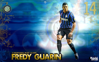 Wallpapers Fredy Guarin Inter Milan 2012-2013