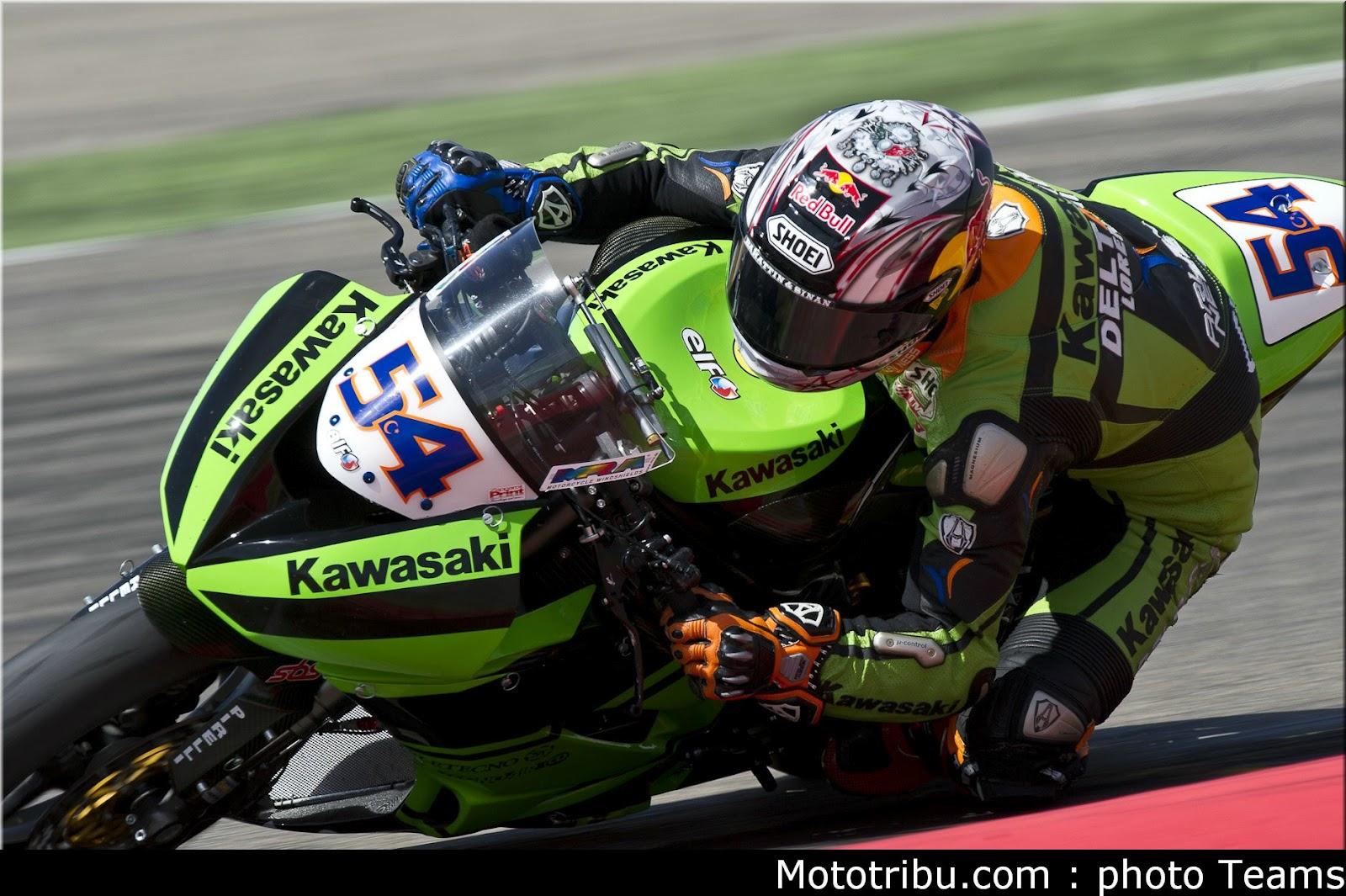 Racing Caf    Kenan Sofuoglu World Supersport Champion 2012