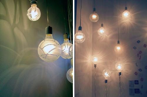 Как сделать освещение для из лампочек