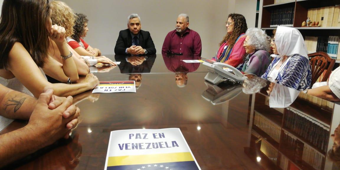 Por la Paz y el Dialogo en Venezuela Febrero 2019