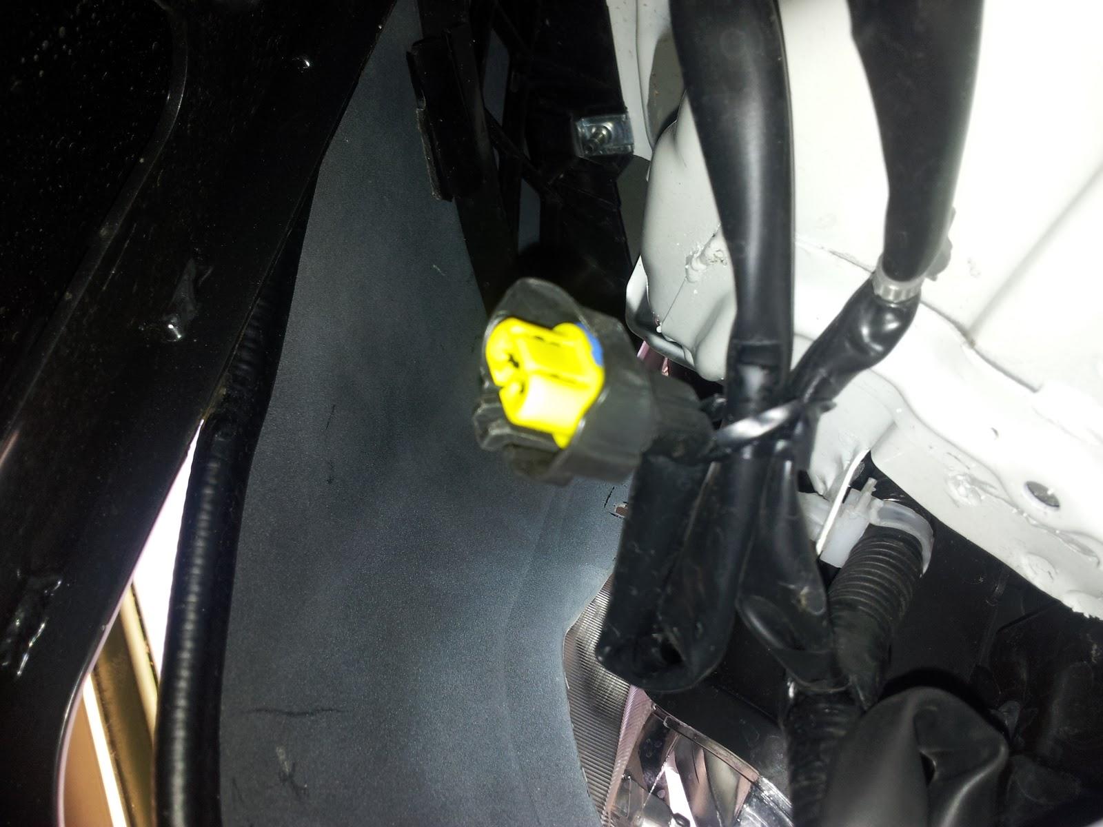 Nissan Navara D40 Headlight Wiring Diagram : Wiring in arb bullbar lights indicators archive the navara forum