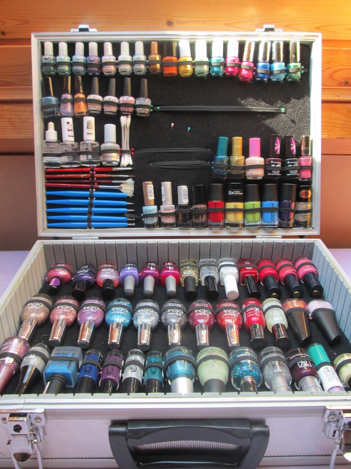 Piggieluv updated nail polish case updated nail polish case prinsesfo Gallery