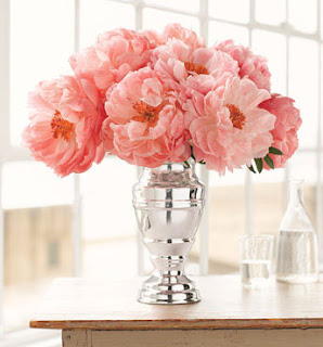 Peonies wedding flower