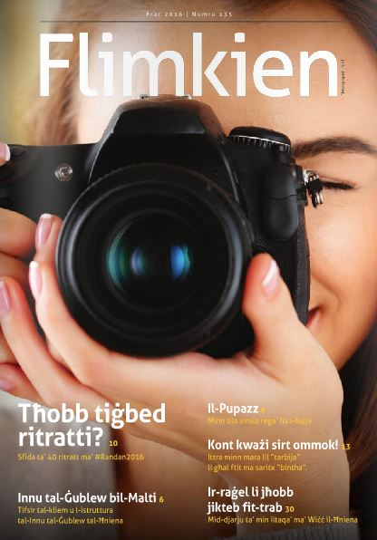FREE FEBRUARY 2016 ISSUE - from the CHURCH OF MALTA - FLIMKIEN MAGAZINE