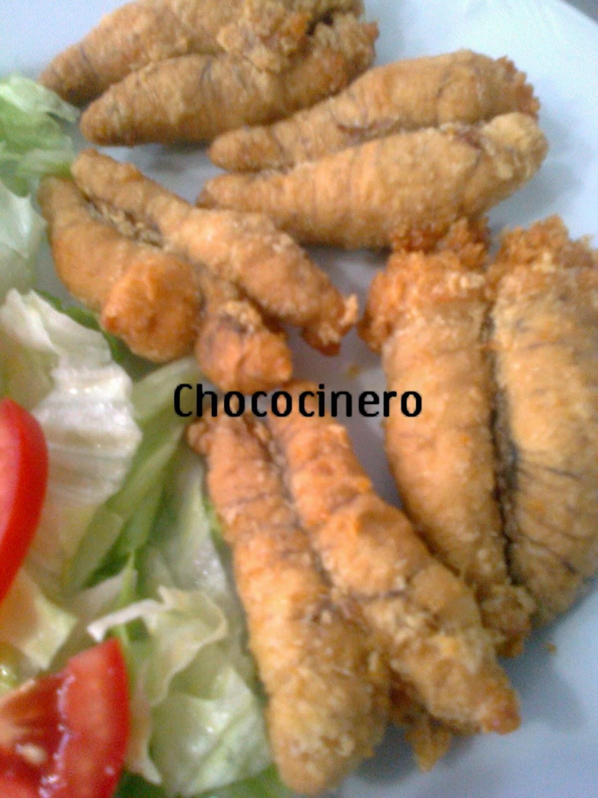 Como Cocinar Huevas De Pescado | Chococinero Y Sus Menus Huevas Fritas De Merluza Tipicas De