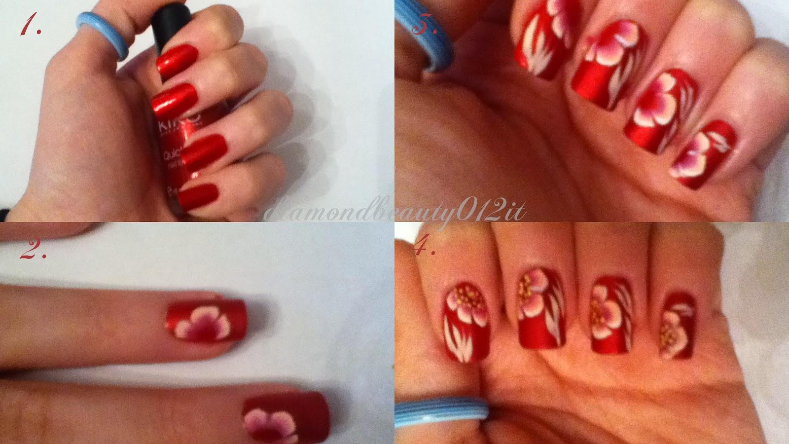 tutorial san valentino fiore e base rossa