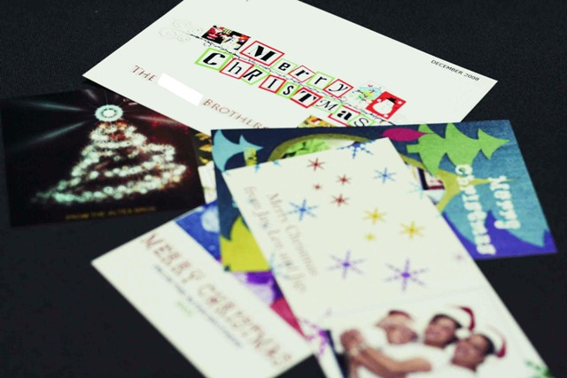 paper Christmas Cards