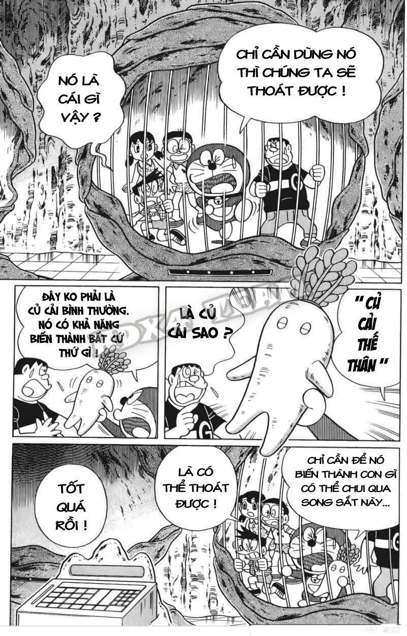 Truyện tranh Doraemon Dài Tập 25 - Nobita và truyền thuyết thần rừng trang 96