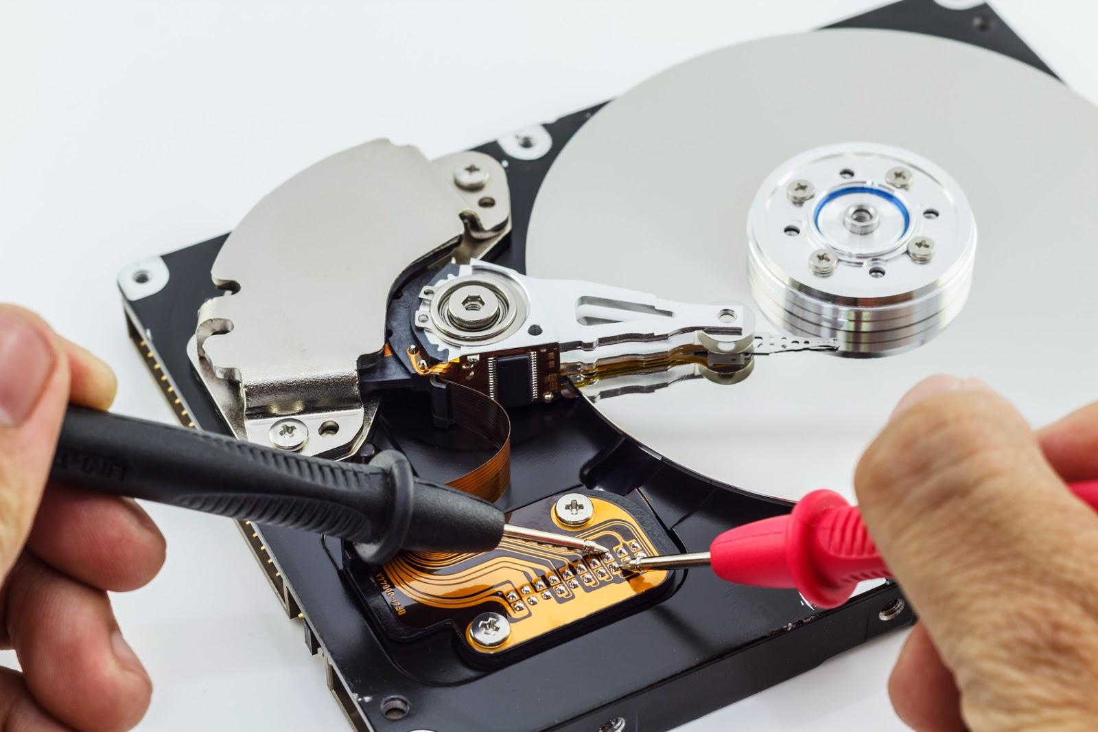 Жёсткий диск ремонт