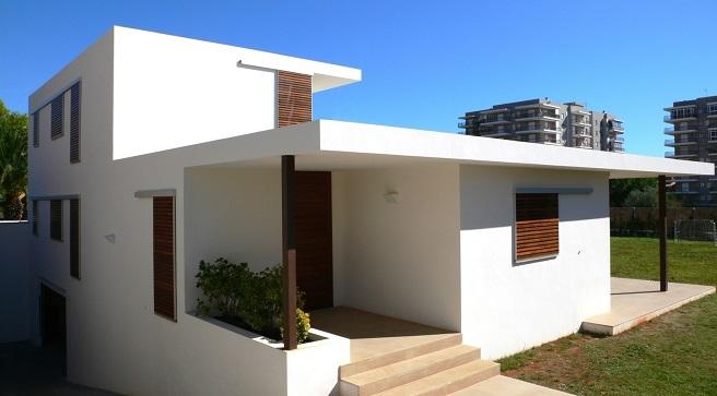 As melhores cores para o exterior da casa decora o e ideias for Pinturas de casas modernas exteriores
