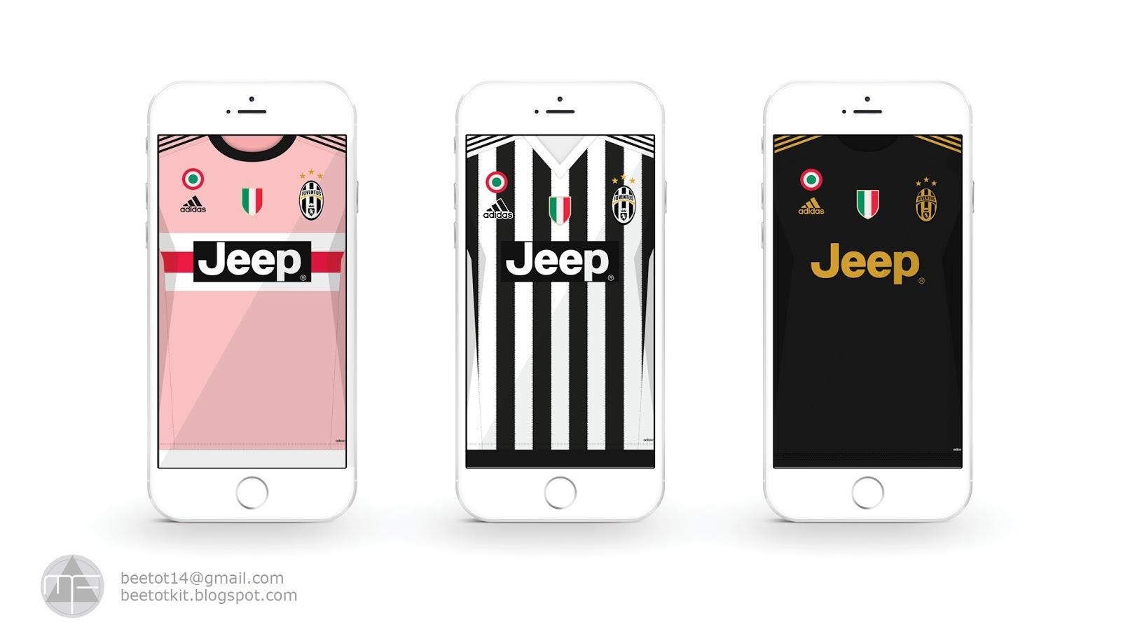 Beetot Kit Juventus Kit 15 16 Iphone 6 Wallpaper