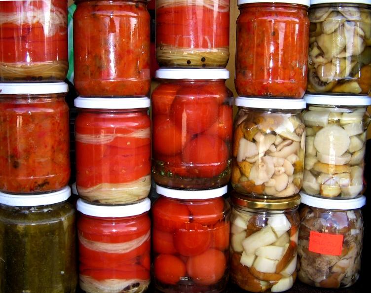 Соленье из овощей