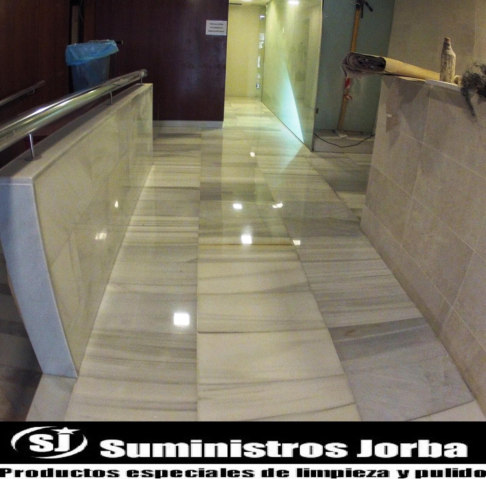 Suministros y pulidos jorba s l rebajado pulido y - Pavimentos de marmol ...