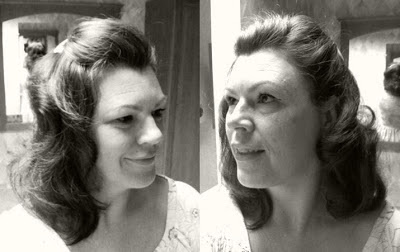 Retro Gran 1940 decade of hairstyles