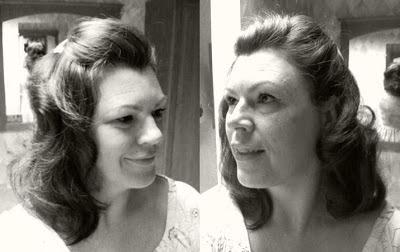 Retro Gran 1940 decade of hairstyles
