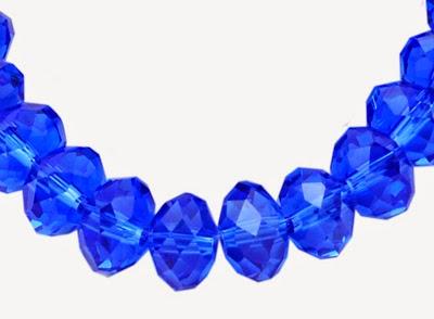 cz stones abacus bead