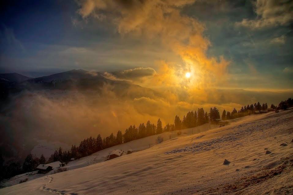 Luzein, Canton of Graubunden, Switzerland by Manuel Martin