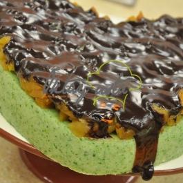 Çikolatalı Ispanaklı İrmik Tatlısı Tarifi