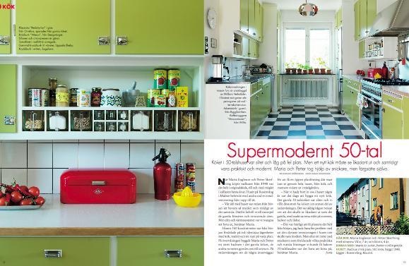 Skandynawski Design Retro Inspiracje Kuchnia W Stylu Lat 50