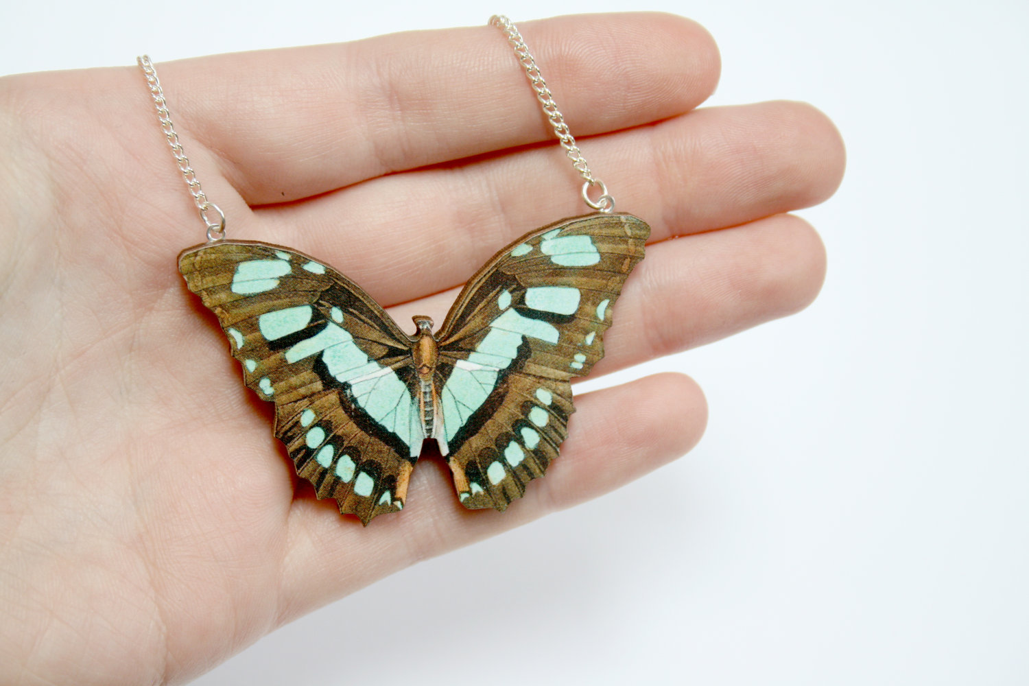 ladybirdlikes butterfly necklace