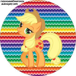 Imprimibles de My Little Pony 4. | Ideas y material gratis para fiestas y celebraciones Oh My ...