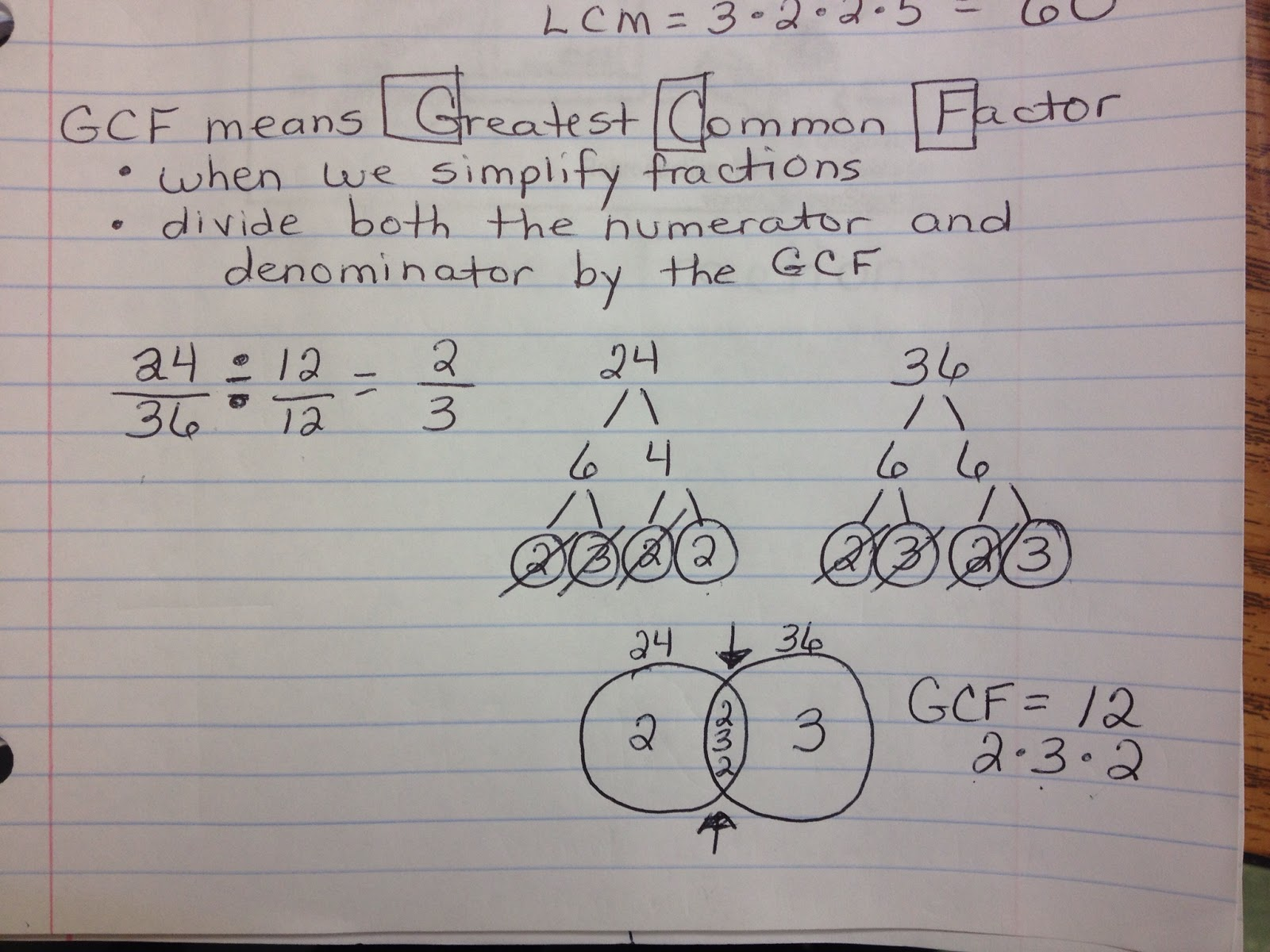 Multiplying And Dividing Fractions Once We Have The Gcf, The Numerator And  Denominator Need To Be Divided By That