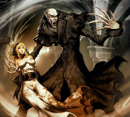 Nosferatu - Count Orlok por GENZOMAN