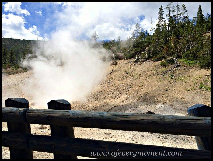 Fumarole, Yellowstone