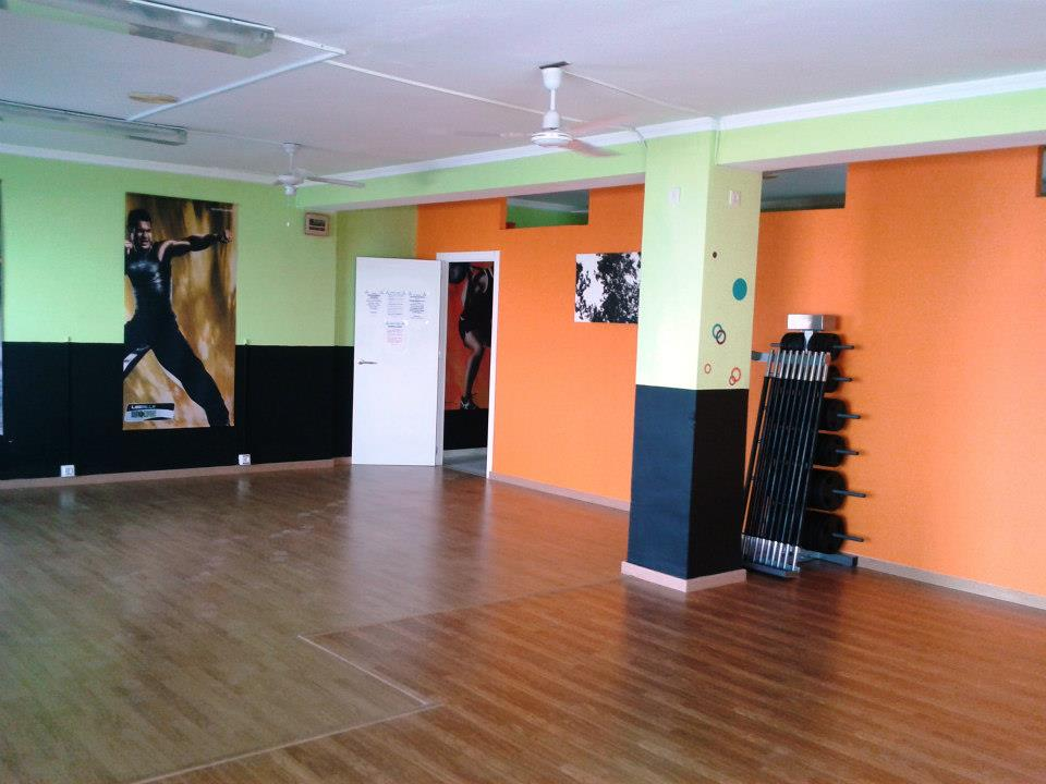 Ecopinturas fernandez septiembre 2012 - Decoracion gimnasio ...