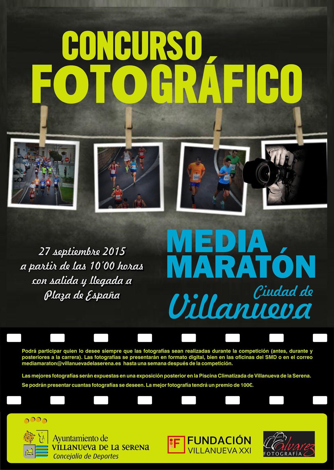 Concurso fotográfico Media Maratón Ciudad de Villanueva