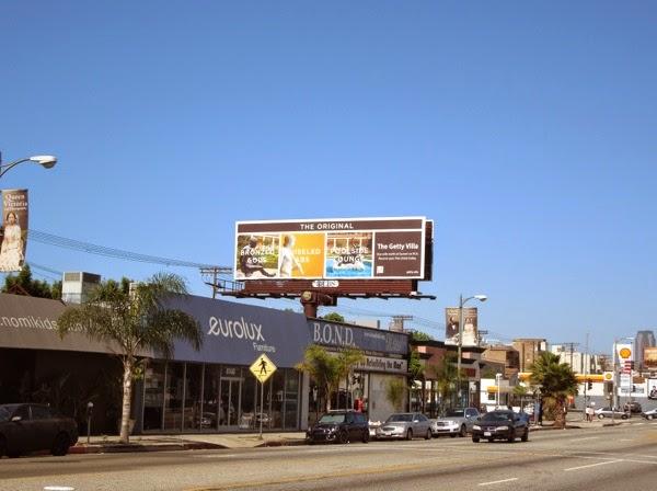 2014 Getty Villa tourism billboard