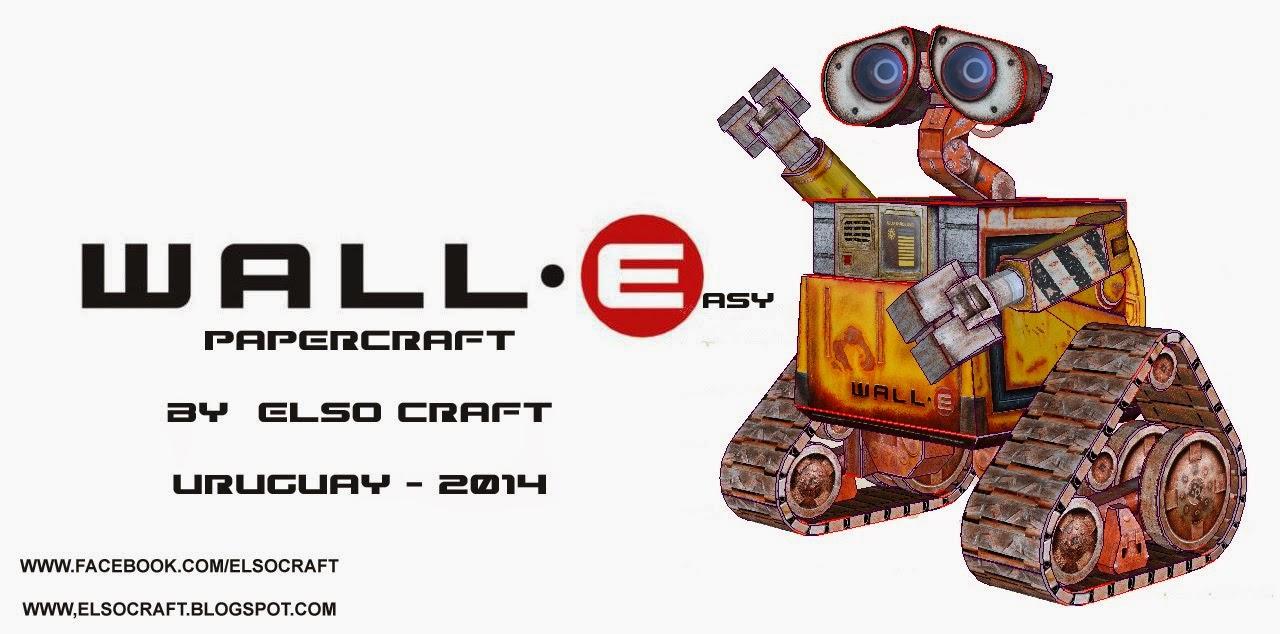 Wall-E Papercraft 2014