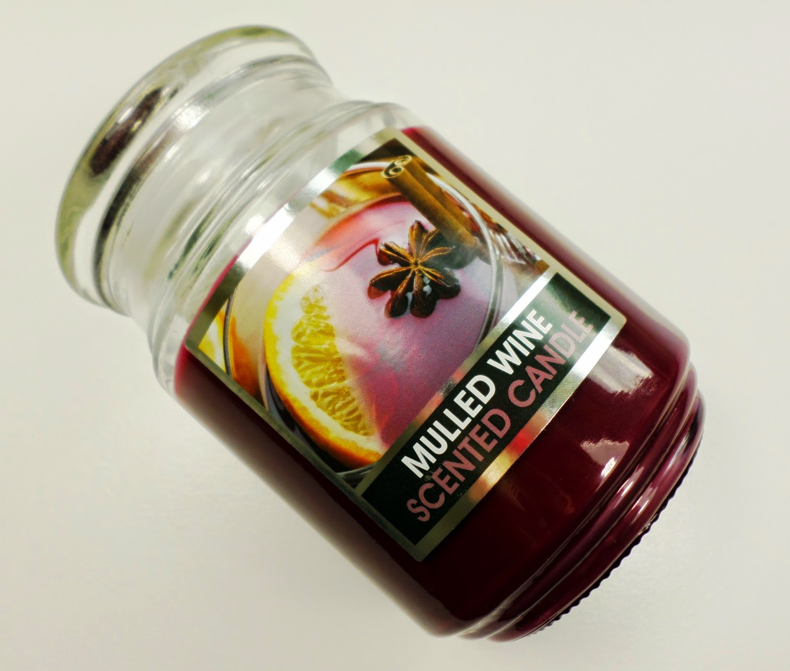 Large Jar Scented Candle in Mulled Wine