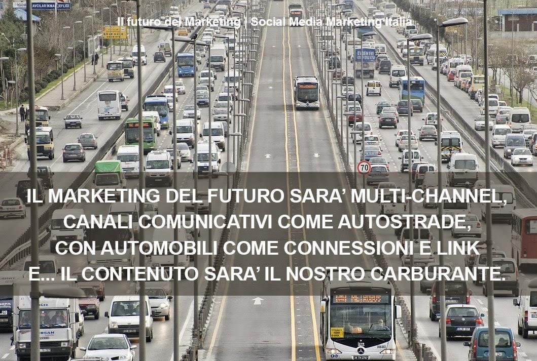 Il Marketing del futuro sarà multi-channel ed avrà bisogno di Hub-di-Contenuti